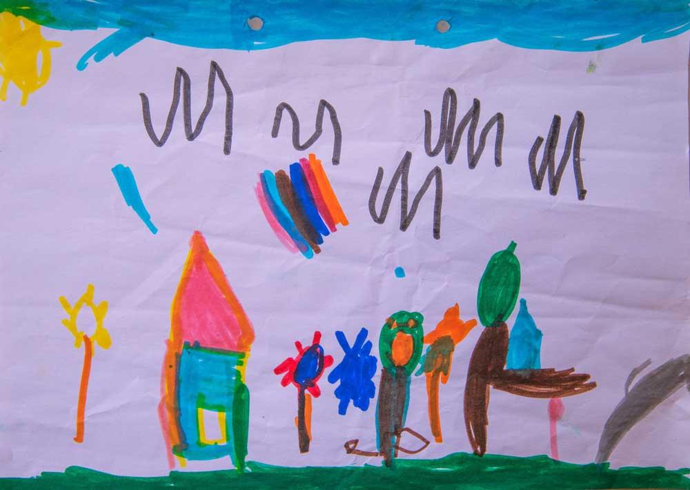 Οσα μας λενε τα παιδιά με τις ζωγραφιες τους